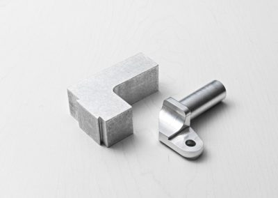 Aluminum Extrusion to CNC Machined Example